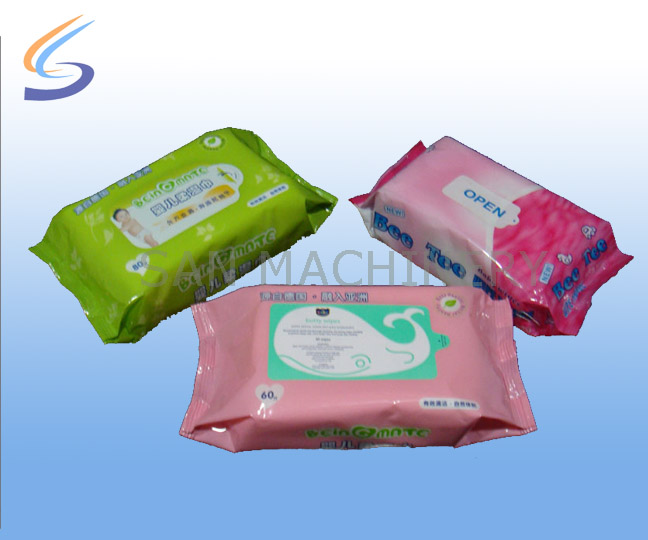 Baby wipes production line