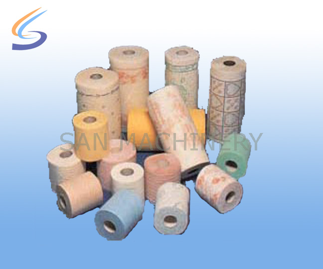 Toilet paper-kitchen towel production line